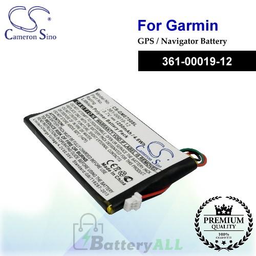 CS-GME750SL For Garmin GPS Battery Model 361-00019-12