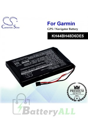 CS-GMG70SL For Garmin GPS Battery Model KH44BH48D6DE5