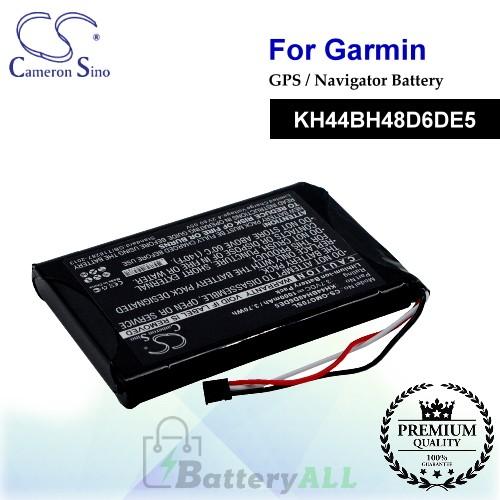 CS-GMG70SL For Garmin GPS Battery Model KH44BH48D6DE5