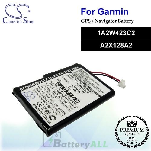 CS-IQ3600SL For Garmin GPS Battery Model 1A2W423C2 / A2X128A2