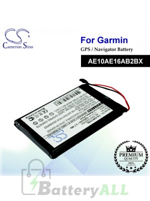 CS-IQN110SL For Garmin GPS Battery Model AE10AE16AB2BX