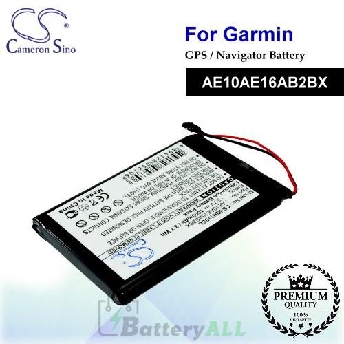 CS-IQN110SL For Garmin GPS Battery Model AE10AE16AB2BX
