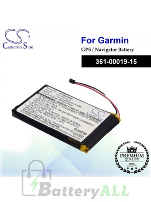 CS-IQN234SL For Garmin GPS Battery Model 361-00019-15