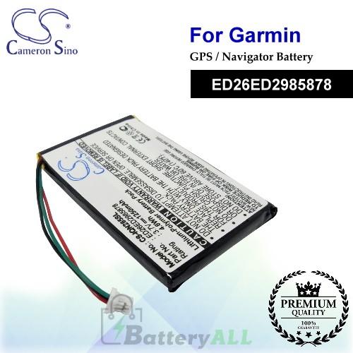 CS-IQN285SL For Garmin GPS Battery Model ED26ED2985878
