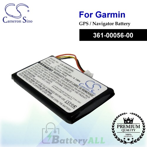 CS-IQN500SL For Garmin GPS Battery Model 361-00056-00