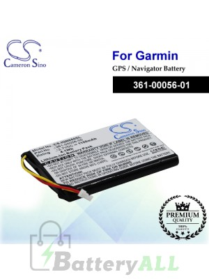 CS-IQN650SL For Garmin GPS Battery Model 361-00056-01