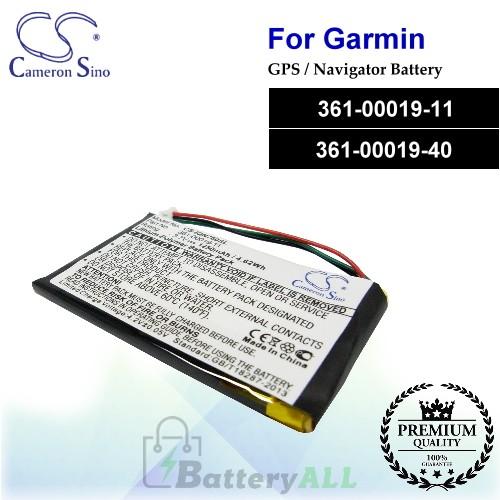 CS-IQN760SL For Garmin GPS Battery Model 361-00019-11 / 361-00019-40