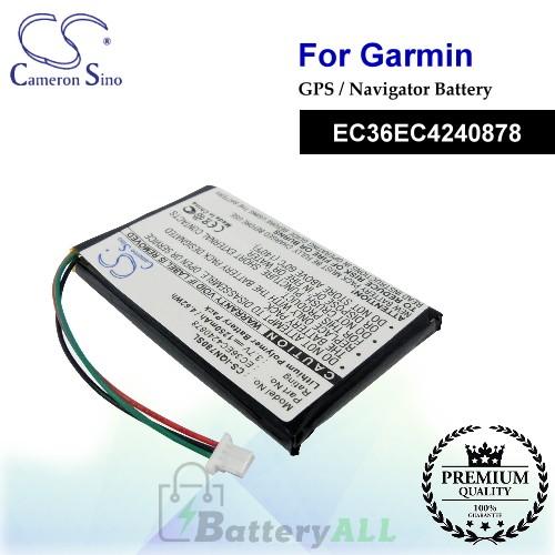 CS-IQN780SL For Garmin GPS Battery Model EC36EC4240878