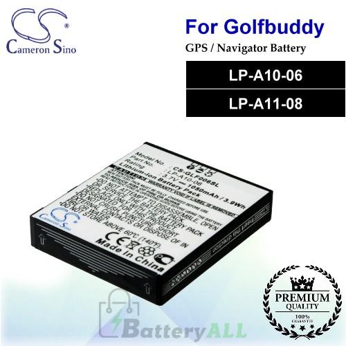 CS-GLF006SL For Golf Buddy GPS Battery Model LP-A10-06 / LP-A11-08