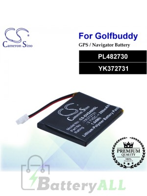 CS-GVS400SL For Golf Buddy GPS Battery Model PL482730 / YK372731