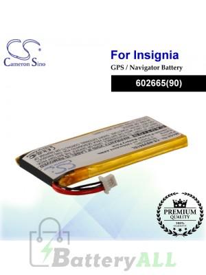 CS-NSV001SL For Insignia GPS Battery Fit Model NS-NAV01