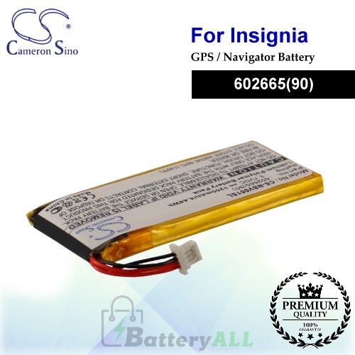CS-NSV001SL For Insignia GPS Battery Fit Model NS-NAV01