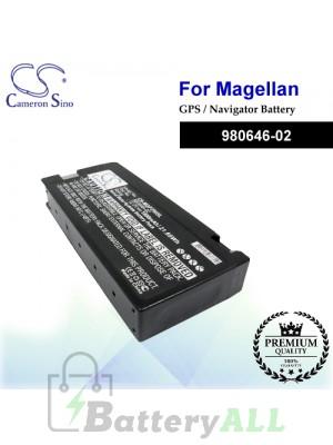 CS-MGP750SL For Magellan GPS Battery Model 980646-02