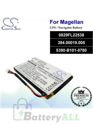 CS-MR1400SL For Magellan GPS Battery Model 0829FL22538 / 384.00019.005 / 5390-B101-0780