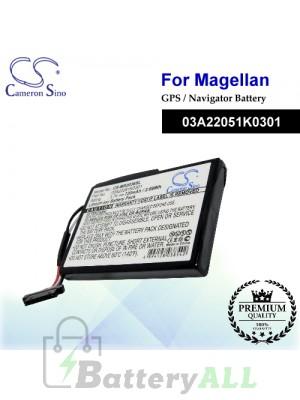 CS-MR2036SL For Magellan GPS Battery Model 03A22051K0301