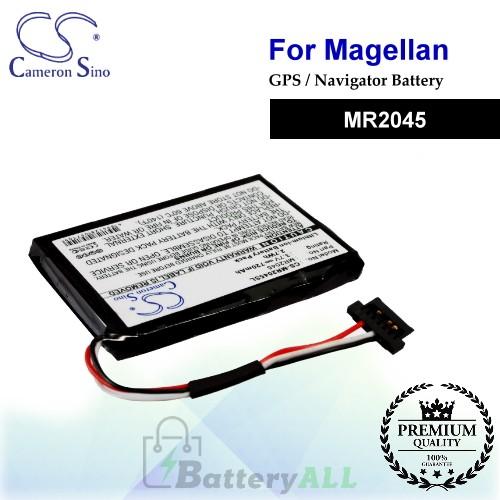 CS-MR2045SL For Magellan GPS Battery Model MR2045