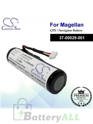 CS-MR3000SL For Magellan GPS Battery Model 37-00029-001
