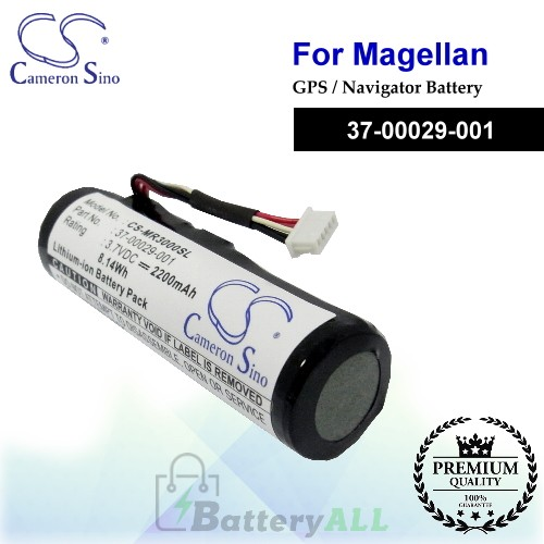 CS-MR3000SL For Magellan GPS Battery Model 37-00029-001
