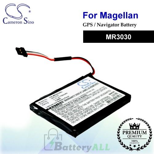 CS-MR3030SL For Magellan GPS Battery Model MR3030