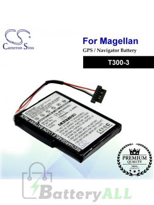 CS-MR3065SL For Magellan GPS Battery Model T300-3