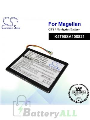 CS-MR4200SL For Magellan GPS Battery Model K4790SA108821