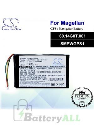 CS-MR4300SL For Magellan GPS Battery Model 60.14G0T.001 / SMPWGPS1