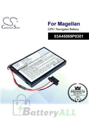 CS-MR5120SL For Magellan GPS Battery Model 03A45069P0301