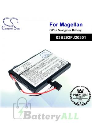 CS-MR9020SL For Magellan GPS Battery Model 03B292FJ20301