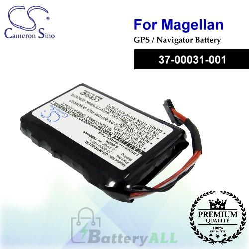 CS-MRC001SL For Magellan GPS Battery Model 37-00031-001