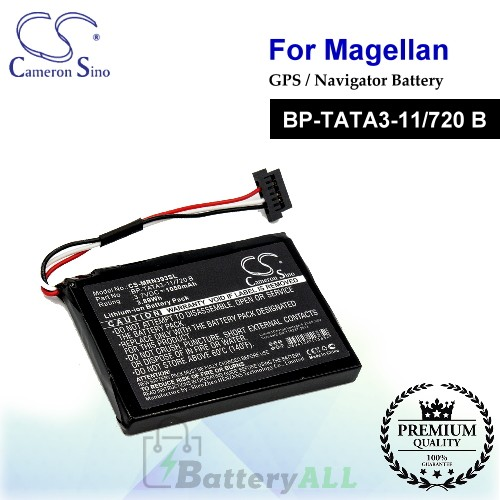 CS-MRN393SL For Magellan GPS Battery Model BP-TATA3-11/720 B