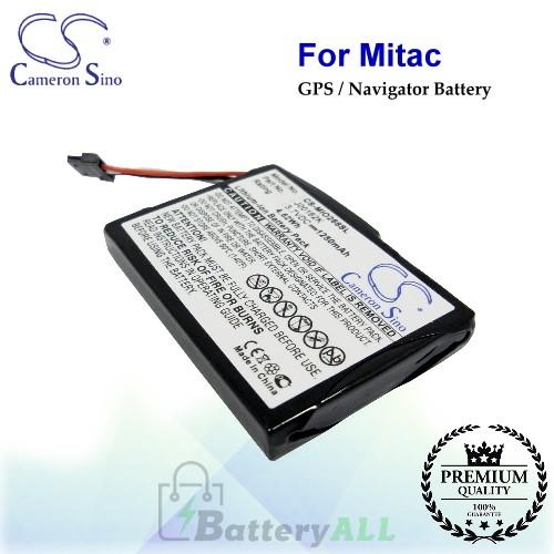 CS-MIO268SL For Mitac GPS Battery Model