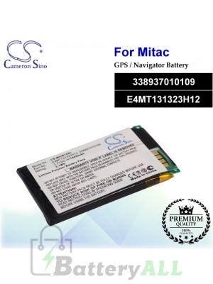 CS-MIO610SL For Mitac GPS Battery Model 338937010109 / E4MT131323H12