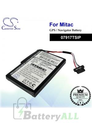 CS-MIS300SL For Mitac GPS Battery Model 07917TSIP