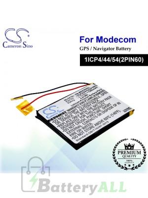 CS-MDX300SL For MODECOM GPS Battery Model 1ICP4/44/54(2PIN60) MX3