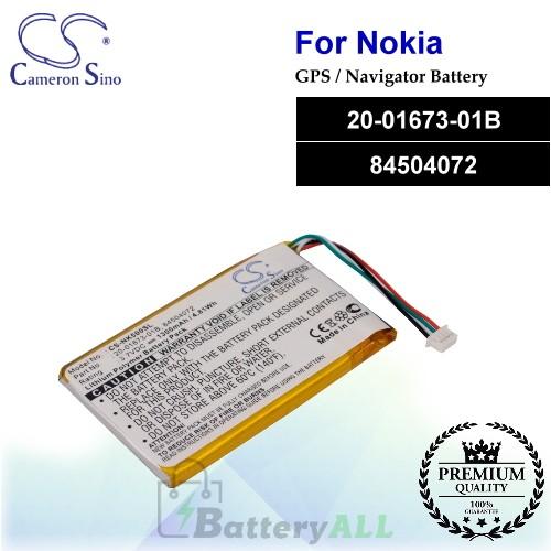 CS-NK500SL For Nokia GPS Battery Model 20-01673-01B / 84504072