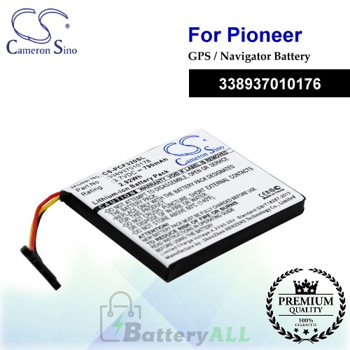 CS-PCF320SL For Pioneer GPS Battery Fit Model AVIC-F320BT