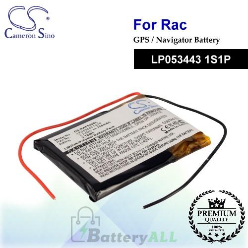 CS-RAF500SL For RAC GPS Battery Model LP053443 1S1P