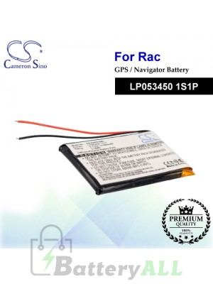 CS-RAF515SL For RAC GPS Battery Model LP053450 1S1P