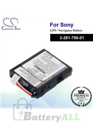 CS-SU53SL For Sony GPS Battery Model 3-281-790-01