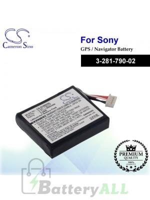 CS-SUN82SL For Sony GPS Battery Model 3-281-790-02