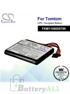 CS-TM2435SL For TomTom GPS Battery Model FKM1108005799