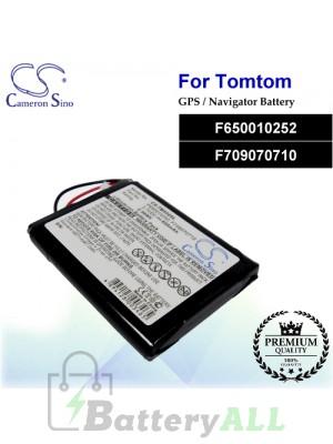 CS-TM500SL For TomTom GPS Battery Model F650010252 / F709070710