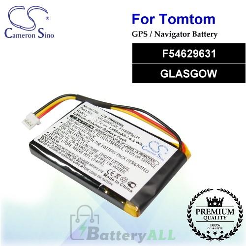 CS-TM600SL For TomTom GPS Battery Model F54629631 / GLASGOW