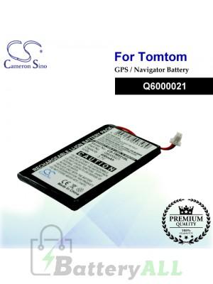 CS-TM821SL For TomTom GPS Battery Model Q6000021