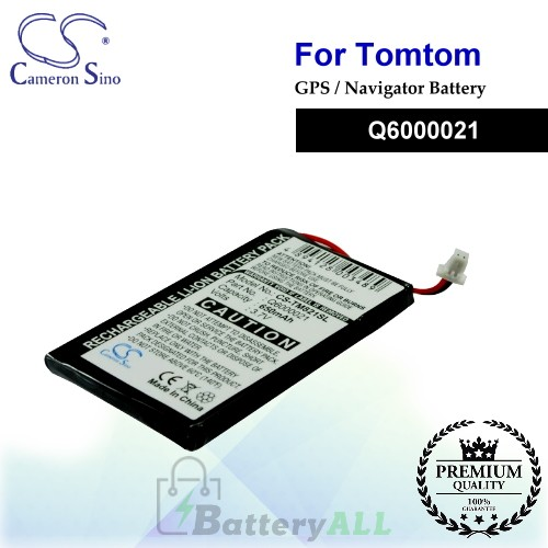 CS-TM821SL For TomTom GPS Battery Model Q6000021