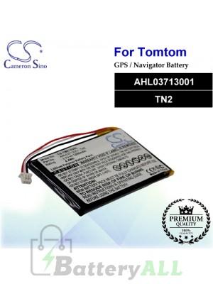 CS-TME100SL For TomTom GPS Battery Model AHL03713001 / TN2