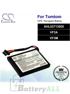 CS-TMF04SL For TomTom GPS Battery Model AHL03713005 / VF3A / VF3M
