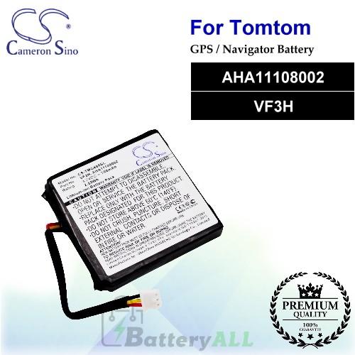 CS-TMG400SL For TomTom GPS Battery Model AHA11108002 / VF3H
