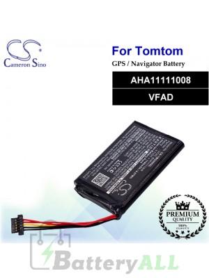 CS-TMG500SL For TomTom GPS Battery Model AHA11111008 / VFAD
