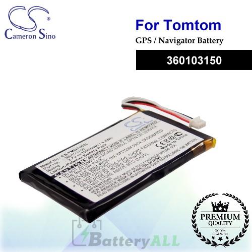 CS-TMG700SL For TomTom GPS Battery Model 360103150